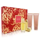 Beautiful by Estee Lauder for Women Romantic Destination 4 Piece Set Includes: 2.5 oz Eau de Parfum Spray + 3.4 oz Perfumed Body Lotion + 3.4 oz Bath and Shower Gel + 0.17 oz Eau de Parfum Travel Spray