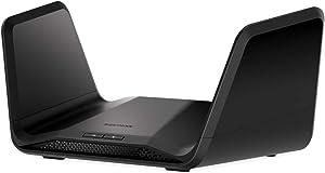 NETGEAR Nighthawk 8-Stream Tri-band AX8 Wi-Fi 6 Router (RAX70) – AX6600 Wireless Speed (Up to 6.6 Gbps) | 2,500 Square Feet Coverage