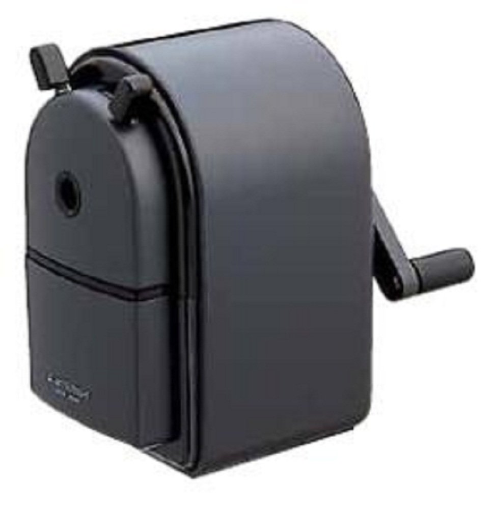 Uni Mitsubishi Pencil sharpener manual black KH20.24 (japan import) Mitsubishi Pencil Co. Ltd.