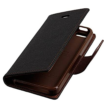 cheap for discount 2f8e5 4e9f5 Vivo V5S Flip Cover, Johra for Luxury Mercury Diary Wallet Style Brown Flip  Cover Case for Vivo V5S Flip Cover