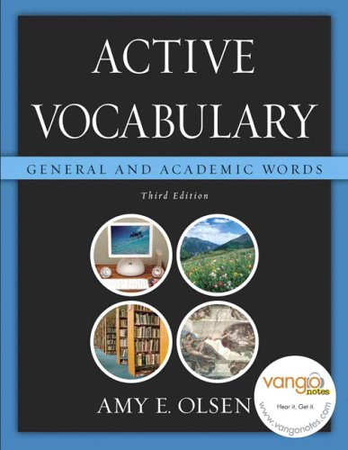 Active Vocabulary: General and Academic Words (3rd Edition) -