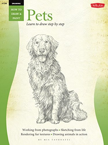 Drawing: Pets: Learn to paint step by step (How to Draw & Paint)