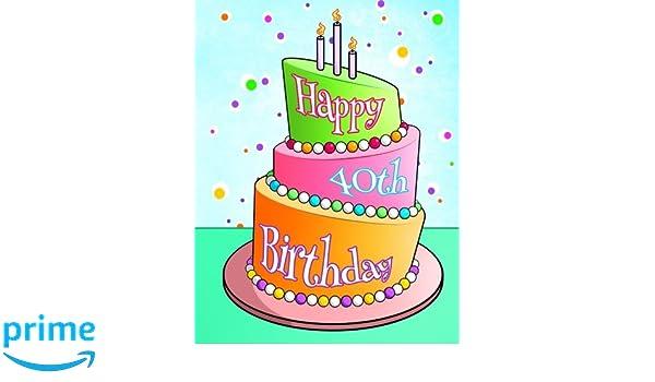 Happy 40th Birthday Discreet Internet Website Password Organizer