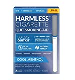 4 Week Quit Kit/Harmless Quit Smoking Aid/Stop Smoking Aid/Includes Free Quit Smoking Support Guide. (Cool Menthol, 30 Day Quit Kit)