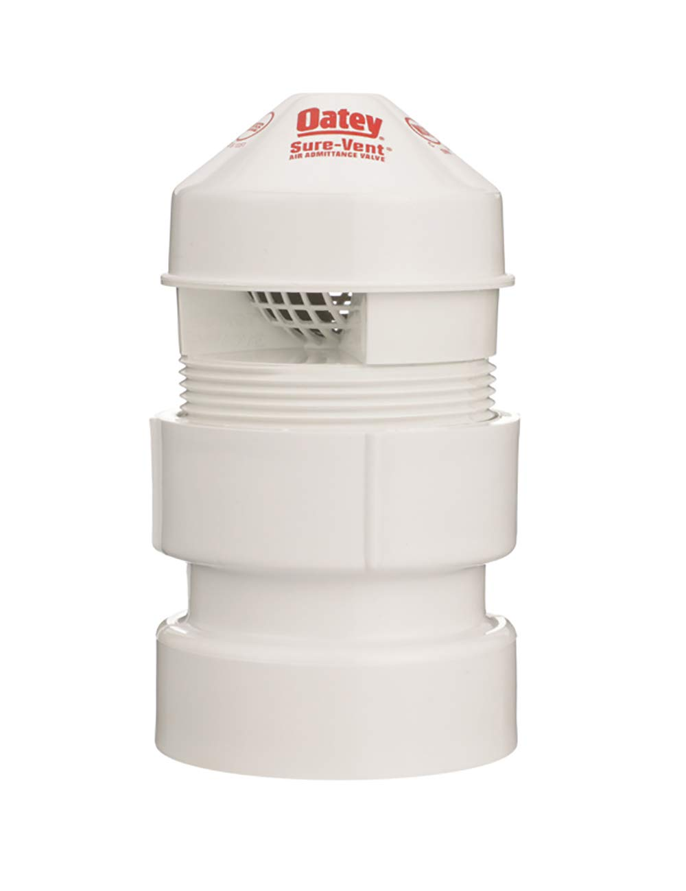 Oatey 39017 SURE-VENT AIR ADM VALVE, 1-1/2-Inch by 2-Inch, White: Home Improvement