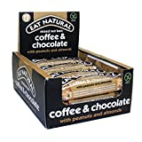 Eat Natural Coffee/Choc/Peanuts/Almonds 45 g (Pack of 12)