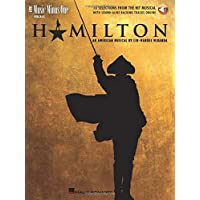 Hamilton - 10 Selections from the Hit Musical: Music Minus One Vocals Bk/Online Audio