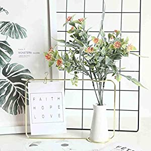 SUJING Artificial Silk Chrysanthemum Daisy Flower Bouquet Table Wedding Party Decor DIY Used to Decorate Hotels/Bedroom/Workplaces/Weddings/Garden/Desk 92