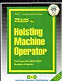 Hoisting Machine Operator, Jack Rudman, 083732257X