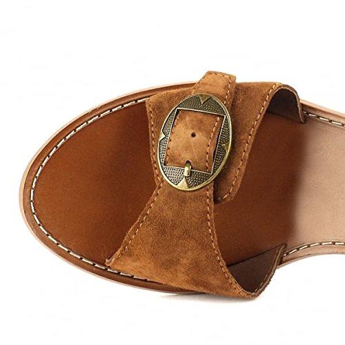 Ash Footwear Pepper Sigaro Sandalias Cuero Mujer Sigaro