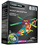 Laser Pegs 8-in-1 Scout Helicopter Kit