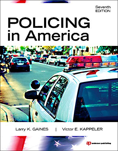 Policing in America, Seventh Edition