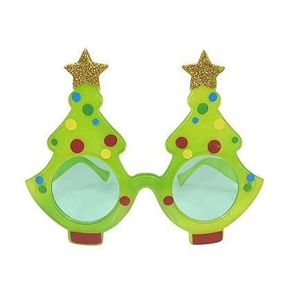 Amazon.com BESTOYARD Christmas Tree Sunglasses Dance Party