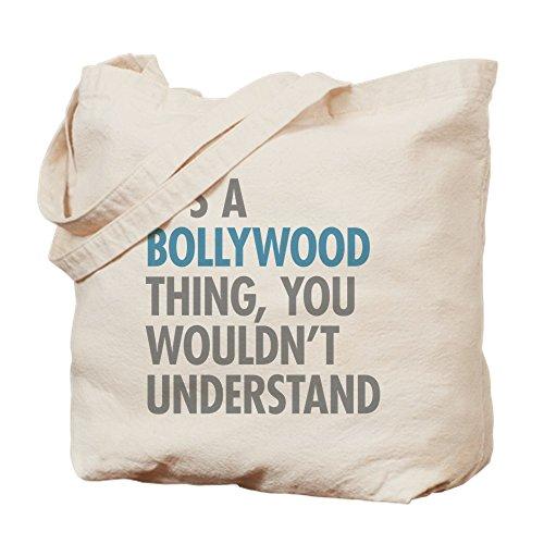 CafePress lo–Bollywood–Gamuza de bolsa de lona bolsa, bolsa de la compra Small caqui