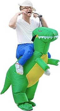 Candybarbar Disfraz de Dinosaurio Inflable para Adultos ...