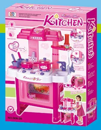 Buy Merry Shop Kitchen Set With Light Sound Big Online At Low Prices In India Amazon In