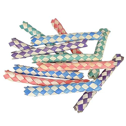 Aryellys Bamboo Finger Traps Party Favor Toy Joke Pack of 24