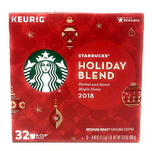 Starbucks Blend Kcup, Holiday, 32 Count
