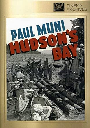 Amazon com: Hudson's Bay: Paul Muni, Gene Tierney, Vincent Price