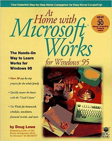 Téléchargement de livres audio texte At Home With Microsoft Works 0764530267 (Littérature Française) PDF DJVU