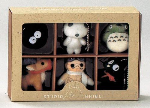 Studio Ghibli Complete Box 6 Figure Mascots with Key Ball Chain Ver.2 by Big Star