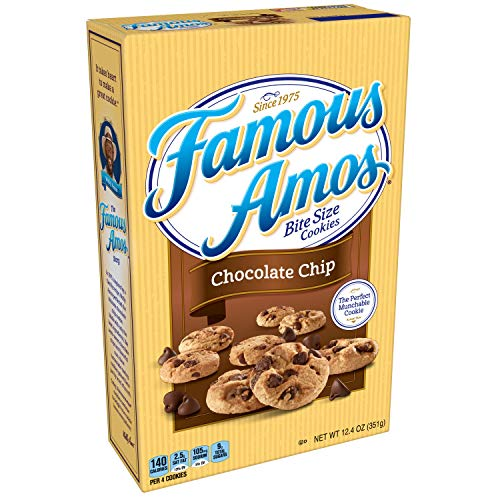 Famous Amos Cookies Bite Size Chocolate Chip 124 oz Box