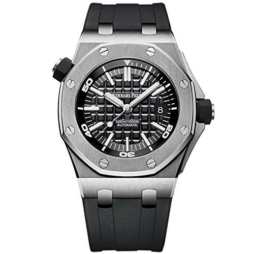 Audemars Piguet Royal Roble Offshore Diver Negro Dial Negro Goma Mens Reloj 15710stooa002ca01: Audemars Piguet: Amazon.es: Relojes