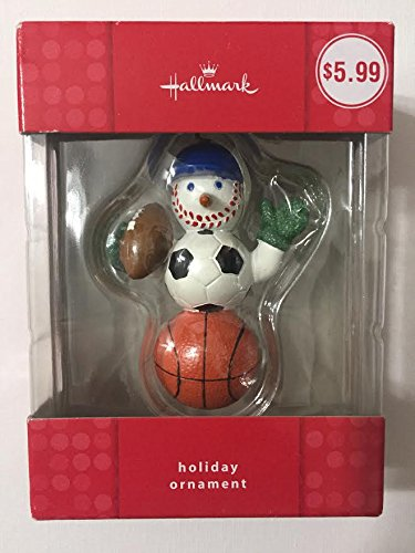 Hallmark ''Sports'' Snowman Christmas Ornament by Hallmark