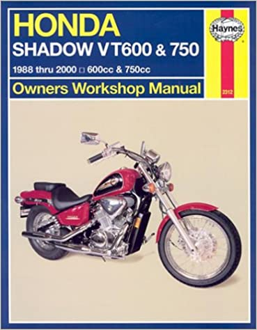 Book Honda Shadow VT600 and VT750, 600cc and 750cc from 1988 thru 2000 (Owners Workshop Manual)
