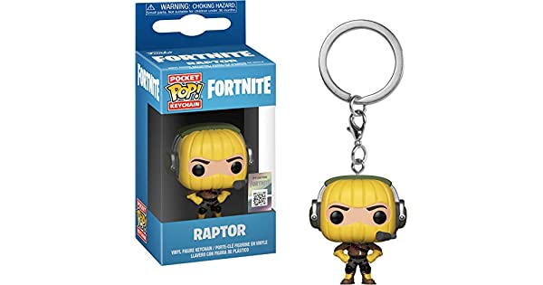 Amazon.com: Funko Pop! Llavero: Fortnite - Raptor: Toys & Games