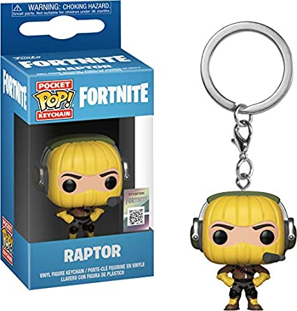 Funko 36966 Pocket Pop - Llavero, diseño de Fortnite: Raptor