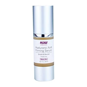 Now Foods, Solutions, Hyaluronic Acid Firming Serum, 1 fl oz(pack of 4) NuFACE Trinity Wrinkle Reducer Attachment