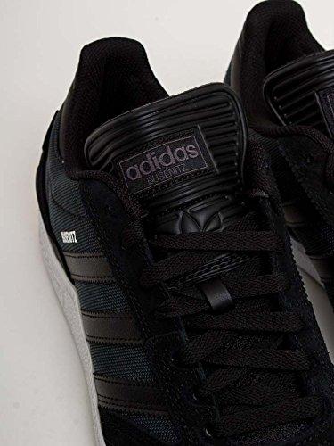 adidas Busenitz, Zapatillas de Deporte Para Hombre, Negro (Negbas/Negbas/Ftwbla 000), 40 EU