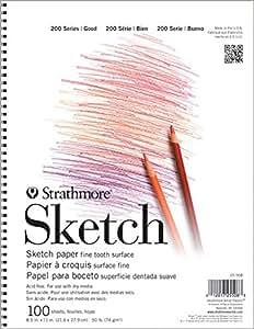 Strathmore Paper 25-511 200 Series Sketch Pad