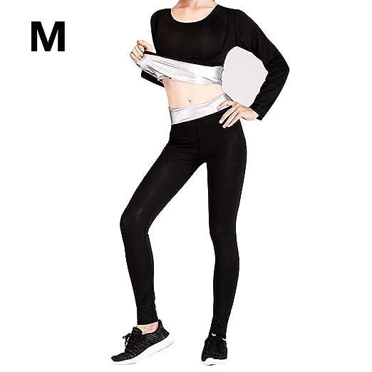 pretty-H Traje para Mujer Yoga, Fitness, Sudor, Sudadera ...
