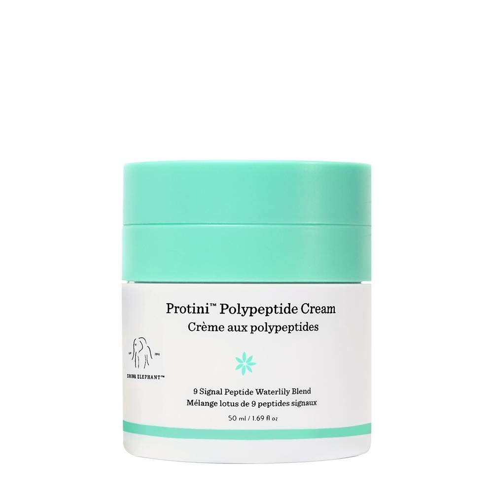 Drunk Elephant Protini Polypeptide Cream. Protein Face Moisturizer with Amino Acids (50 milliliters, 1.69 ounce) by Drunk Elephant