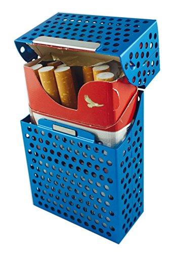 Cigarettes Cadeau Aluminium Bonus doré Bleu Alvéoles Avec Léger Au Choix Modèle Standard À 20 En Alliage Couleur 1 Ultra Etui Paquet tqB1tT