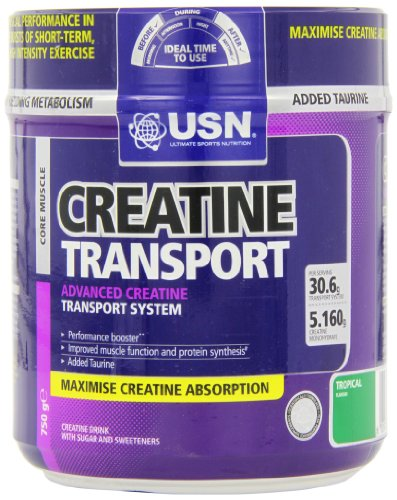 USN Creatine Transport, тропическое - 750 г