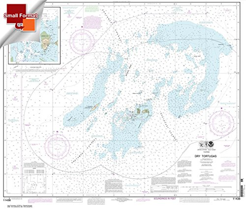 - Paradise Cay Publications NOAA Chart 11438: Dry Tortugas; Tortugas Harbor 21.00 x 24.77 (SMALL FORMAT WATERPROOF)
