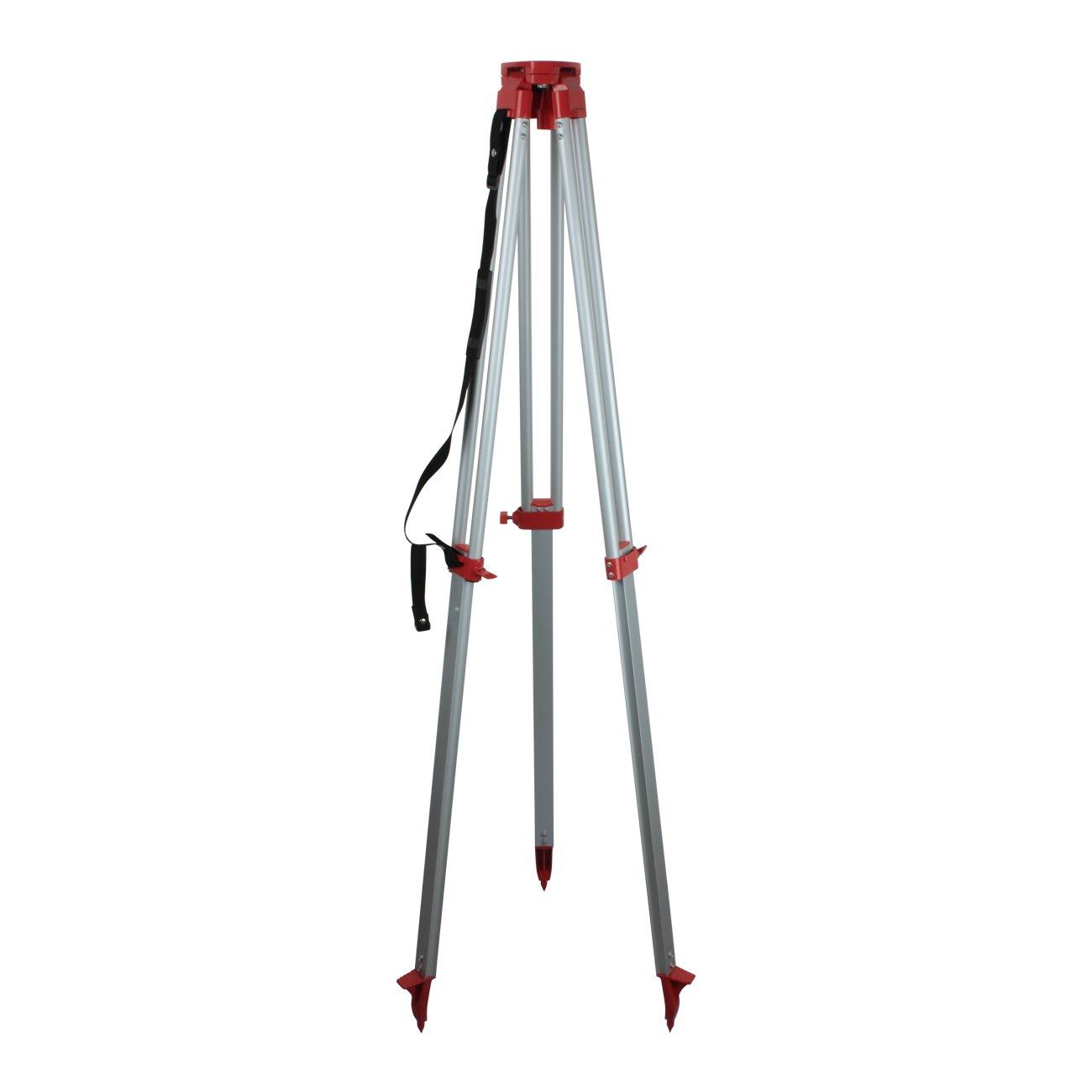 personnel de 5 m Ridgeyard rglable automatique auto nivellement Laser rotatif faisceau rouge niveau 1.63 aluminium trpied