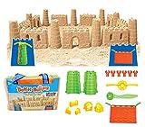 Liberty Imports Beach Builder Create-A-Sand Castle Building Kit for Kids (18 Pcs)