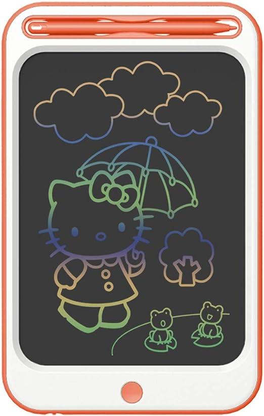 Richgv Tabletas de Escritura LCD 12 Pulgadas,Tablet para Niños Electrónica Gráfica Tablero Mensaje Portátil Tableta De Dibujo De Escribir Dibujar Notas Clase Oficina Casa (12 Pulgadas, Rojo-B): Amazon.es: Juguetes y juegos