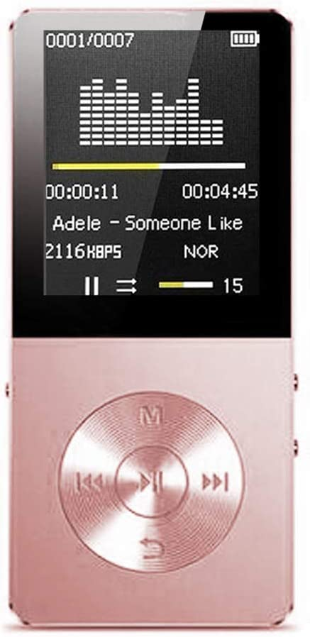 Mp3 Player, Hotechs Hi-Fi Sound, with FM Radio, Recording Function Build-in Speaker Expandable