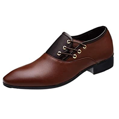 Hochzeit Schnürhalbschuhe Schuhe Lackleder Elegant Business Schwarz Casual Oxford Anzugschuhe HerrenLederschuhe Braun Derby Modern Leder Smoking W9YDEIH2
