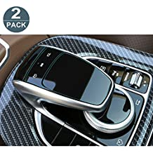 [2 Packs] Perfect for Mercedes Benz COMAND touchpad Navigation Touch Controller Touch Screen Sensitive Protector Invisible Ultra HD Clear Film Anti Scratch Skin Guard