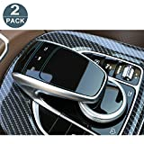 #6: [2 Packs] Perfect for Mercedes Benz COMAND touchpad Navigation Touch Controller Touch Screen Sensitive Protector Invisible Ultra HD Clear Film Anti Scratch Skin Guard