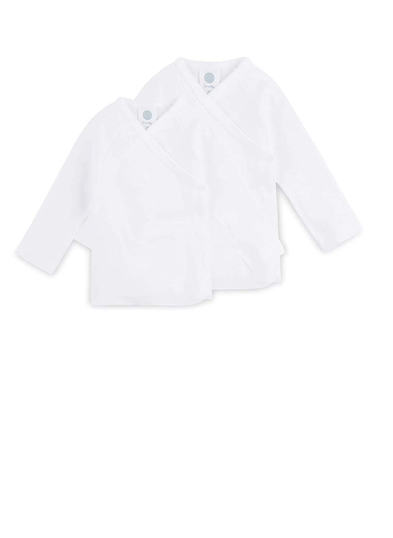 Sanetta Unisex Wickelbody Langarm Organic Cotton im 3er Pack 302300