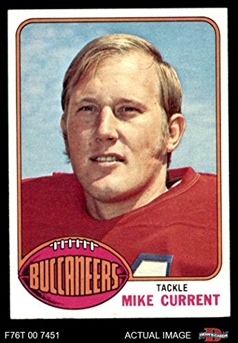 1976 Topps # 97 Mike Current Tampa Bay Buccaneers (Football Card) Dean's Cards 8 - NM/MT (1976 Tampa Bay Buccaneers)