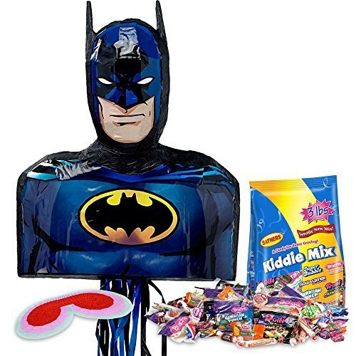[Batman Shape Pinata Kit (Each) by ANYTIME COSTUMES] (Anytime Costumes)