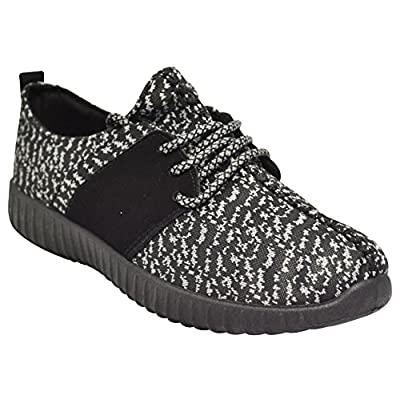 Bamboo Tilt-01S Womens Knit Sneakers